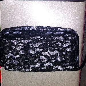 Victoria's Secret black lace wristlet